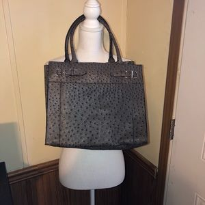 Handbags - Faux crocodile bag in great condition